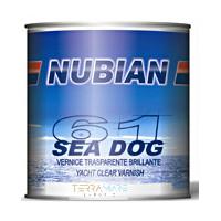 Nubian Sea Dog 61 vernice trasparente